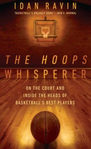 """The cover of """"The Hoops Whisperer,"""" by Idan Ravin. Credit: Courtesy of William Scarlett."""