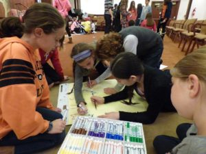 Pictured here, the Rimon Initiative at Philadelphia's Temple Sholom offers students project-based chugim (electives), an example cited by Rabbi Phil Warmflash and Anna Marx for an innovative new model in Jewish education.