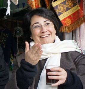 Arab-Israeli MK Haneen Zoabi. Credit: Wikimedia Commons